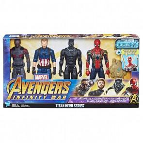Avengers Titan Hero Series 4 Pack