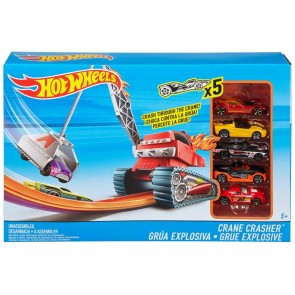 Hot Wheels. Pista Crane Crasher