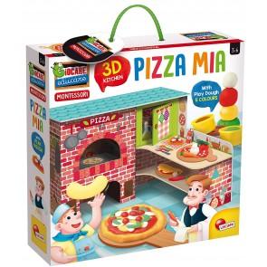 Giocare Educare. Montessori Pizza Mia 3D + Plastilina
