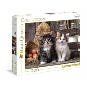 Puzzle 1000 pezzi High Quality Collection. Lovely Kittens