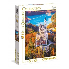 Puzzle 1000 pezzi High Quality Collection. Neuschwanstein