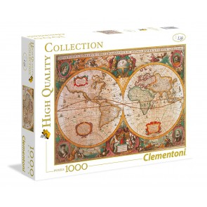 Puzzle 1000 pezzi Mappa Antica. High Quality Collection