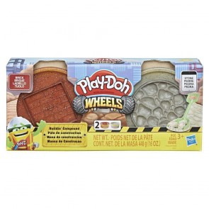 Playdoh Wheels. Brick E Stone