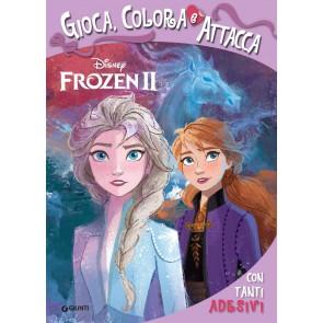 Frozen 2. Gioca colora attacca. Con adesivi
