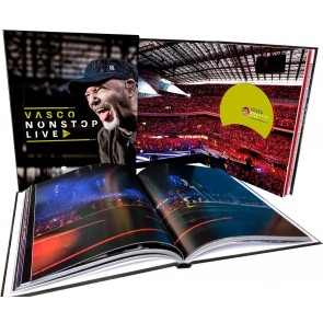 Vasco Nonstop Live (Box Set Super Deluxe Edition) Vinile LP + CD Audio + Blu-ray + DVD