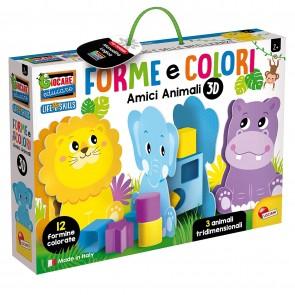 Giocare Educare. Forme e Colori Mondo 3D