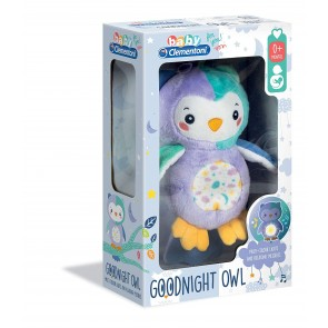 Baby Clementoni. Night Owl Light Up Peluche
