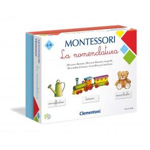 Montessori. La Nomenclatura