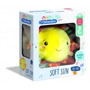 Baby Clementoni. Soft Sun Musical Peluche