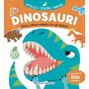 Dinosauri. Con adesivi. Ediz. a colori