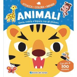 Animali. Con adesivi. Ediz. a colori