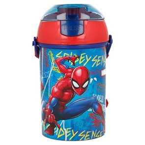 Spiderman. Borraccia con cannuccia 450 ml