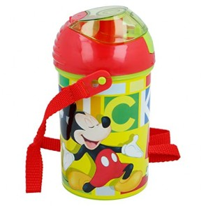 Mickey Mouse. Borraccia con tappo 450 ml. Disney