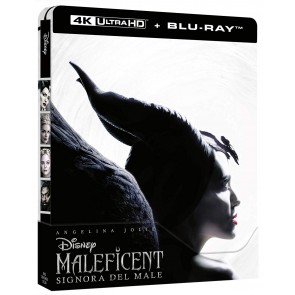 Maleficent. Signora del male. Con Steelbook Blu-ray + Blu-ray Ultra HD 4K