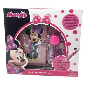 Diario Segreto Glitterato Minnie
