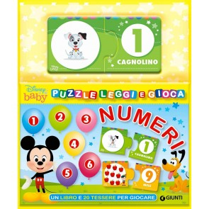 Numeri. Puzzle leggi e gioca. Ediz. a colori. Con 20 Carte