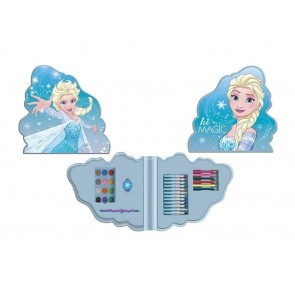 Frozen. Valigetta mini art set forma 33 pezzi. Disney