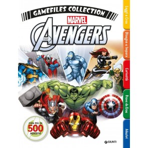 Avengers gamefiles collection. Con adesivi