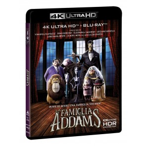La Famiglia Addams Blu-Ray 4K+Blu-Ray+Booklet