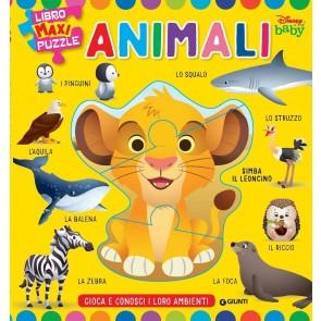 Animali. Baby libro maxi puzzle. Ediz. a colori