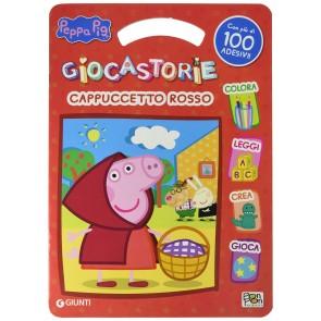 Cappuccetto rosso. Peppa pig. Activity book. Con adesivi. Ediz. a colori