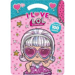 I love. L.O.L. Surprise! Activity book. Con adesivi. Ediz. illustrata