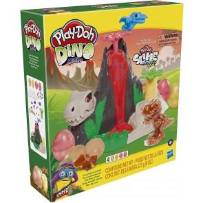 Play-Doh Slime Dino L'isola dei Dinosauri Playset con HydroGlitz
