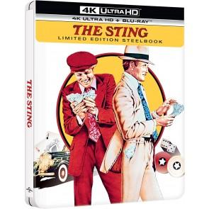 La stangata. Con Steelbook (Blu-ray + Blu-ray Ultra HD 4K)