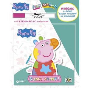 Siamo artisti! Albo magico. Peppa Pig. Ediz. a colori. Con pennarello svelacolori