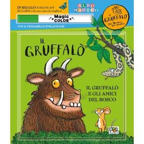Il Gruffalò e gli amici del bosco. Albo magico. Ediz. a colori. Con pennarello svelacolori