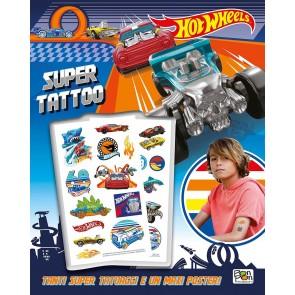Super tattoo. Hot Wheels. Ediz. a colori. Ediz. a spirale. Con Poster