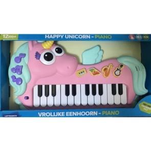 Unicorno Pianola Suona e impara