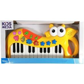 Kids Media Pianola Giraffa Suona e impara
