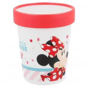 Minnie. Bcchiere Bicolor 250 ml. Disney