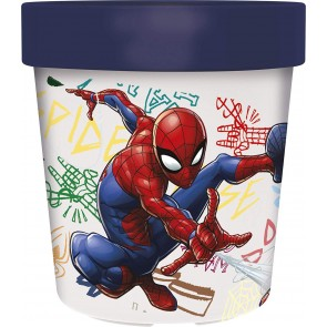 Spiderman. Bicchiere Bicolor 250 ml. Marvel