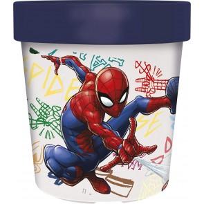 Spiderman. Bicchiere Bicolor 250 ml. Marvel