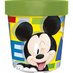 Mickey Mouse. Bicchiere Bicolor 250 ml. Disney