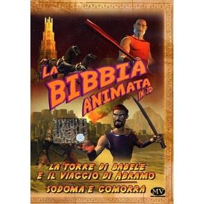 La Bibbia animata in 3D - La torre di Babele e il viaggio di Abramo + Sodoma e Gomorra DVD