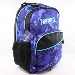 Fortnite. Zaino americano blue organizzato