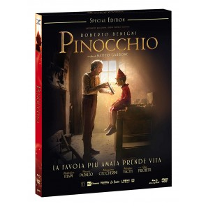 Pinocchio (Special Edition) DVD + Blu-ray