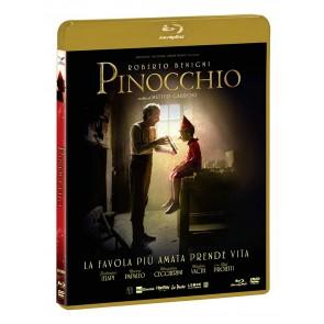 Pinocchio DVD + Blu-ray