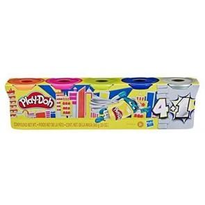 Play-Doh. Vasetto 4+1 ass. Metal