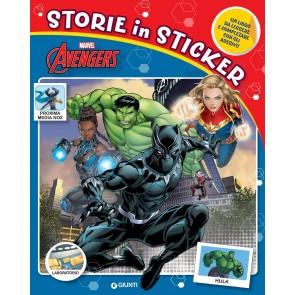 Avengers. Storie in sticker. Ediz. a colori