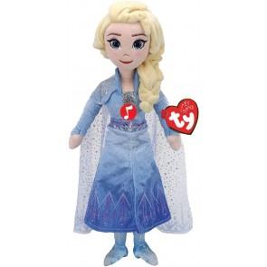 Peluche Frozen 2 con suono, Elsa 33 cm