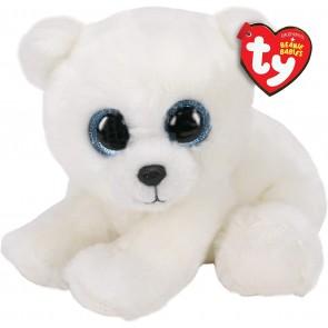 Beanie Boos. Peluche orso polare, Ari 15 cm