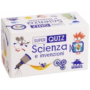 Scienza e invenzioni. Super quiz. Con 100 carte