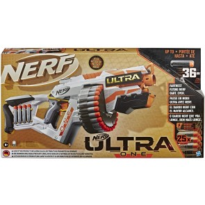 Nerf Ultra. One (Blaster Motorizzato, include 25 Dardi Nerf Ultra, Compatibile soltanto con i dardi Nerf Ultra)