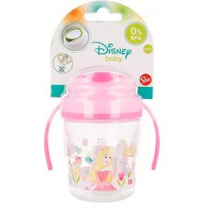 Principessa. Tazza allenamento Bambini beccuccio in silicone 270 ml. Disney