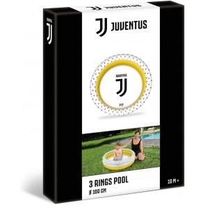 Juventus Piscina gonfiabile per bambini 3 anelli 100 cm