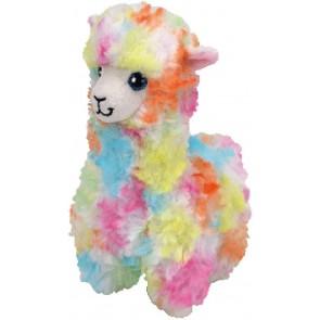 Beanie Babies. Peluche lama arcobaleno, Lola 28 cm